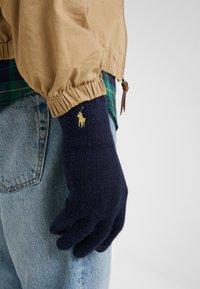 Polo Ralph Lauren - Rękawiczki pięciopalcowe - navy - 0