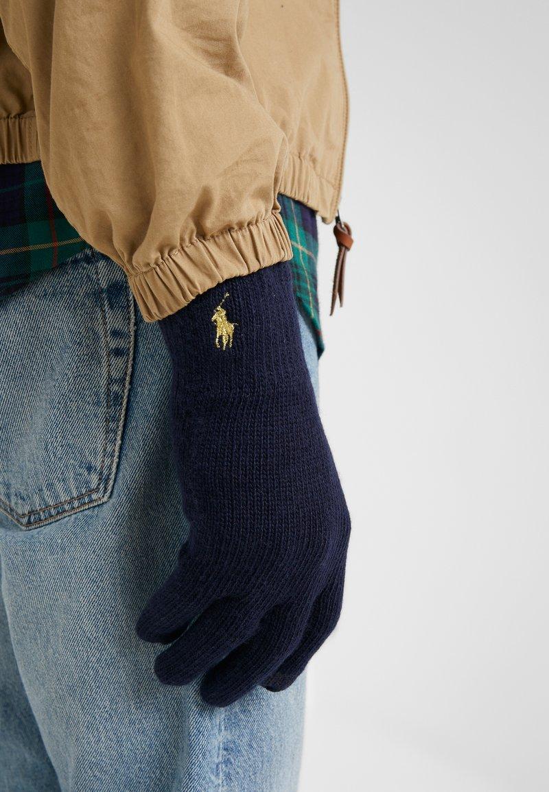 Polo Ralph Lauren - Rękawiczki pięciopalcowe - navy