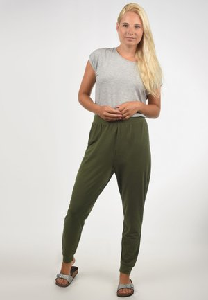 HARISA - Pyjama bottoms - green