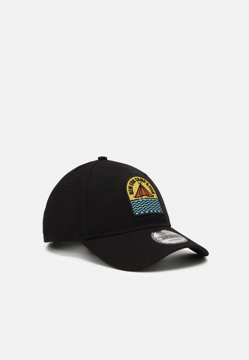 New Era - CAMP PATCH 9FORTY UNISEX - Cap - black