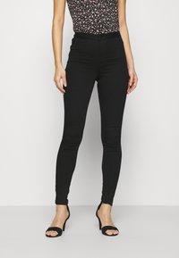 Marks & Spencer London - Jeans Skinny Fit - black denim - 0