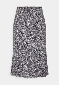 edc by Esprit - MIDI SKIRT - Pencil skirt - navy - 0