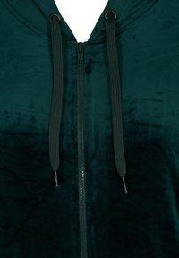 Zizzi - SAMT - Zip-up hoodie - dark green - 6