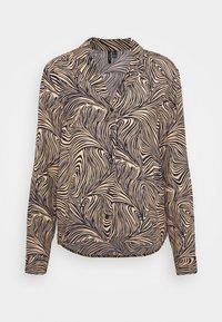 VMGEA - Button-down blouse - brown