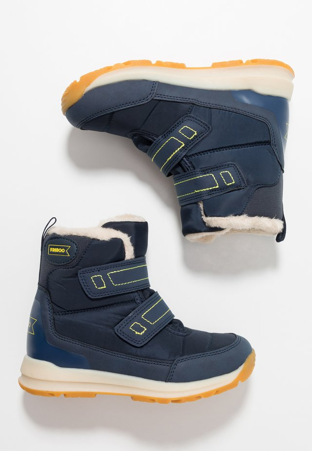 Winter boots - dark blue