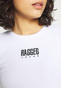 The Ragged Priest - REVEL TEE - Topper langermet - white - 4
