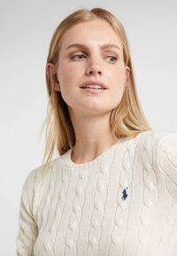 Polo Ralph Lauren - JULIANNA  - Strickpullover - cream - 4