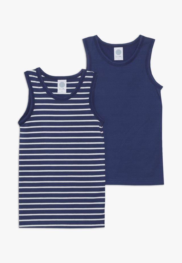 2 PACK  - Unterhemd/-shirt - true blue