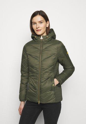 MILLER QUILT - Light jacket - vine