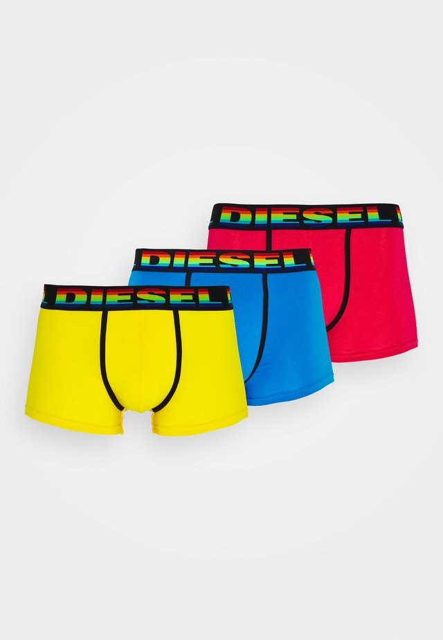 UMBX-DAMIENTHREEPACK BOXER-SHORTS 3 PACK - Bokserit - blue/pink/yellow