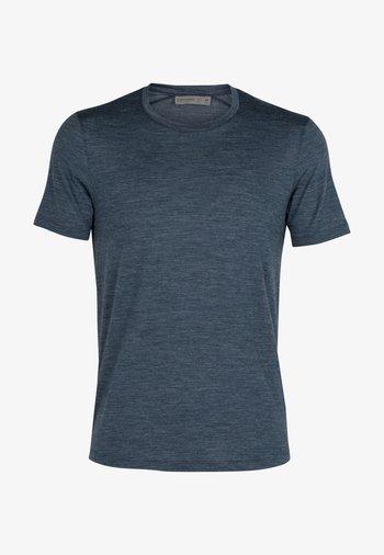 Basic T-shirt - serene blue hthr