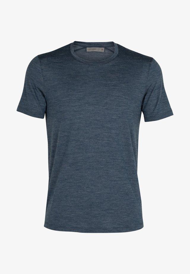 T-shirt basique - serene blue hthr
