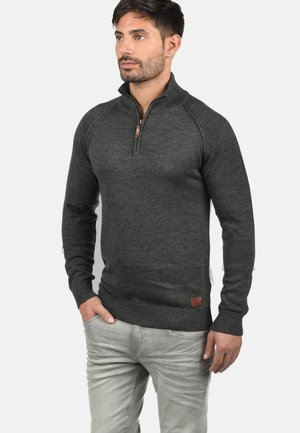 TROYER DANOVAN - Jumper - charcoal