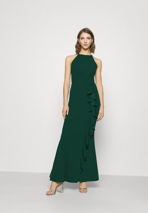 MIAH MAXI DRESS - Galajurk - forest green