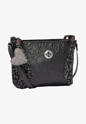 Across body bag - black-black-silver (h1004-00)