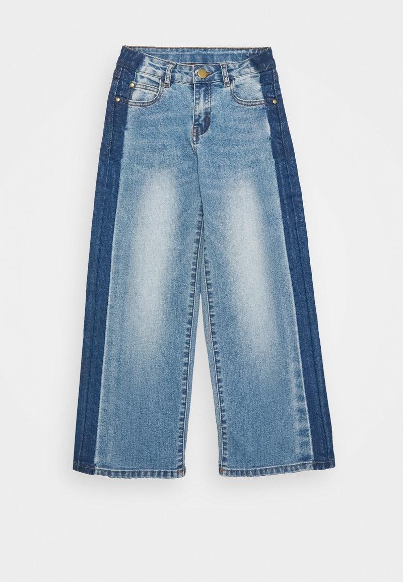 The New - RONINKA WIDE PANTS - Džíny Straight Fit - light blue denim