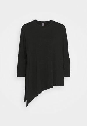 MELLOW - Basic T-shirt - black