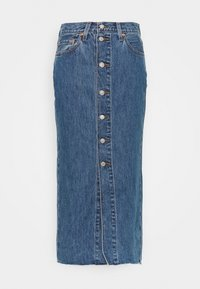 Levi's® - BUTTON FRONT MIDI SKIRT - Jupe crayon - middlebrook - 3