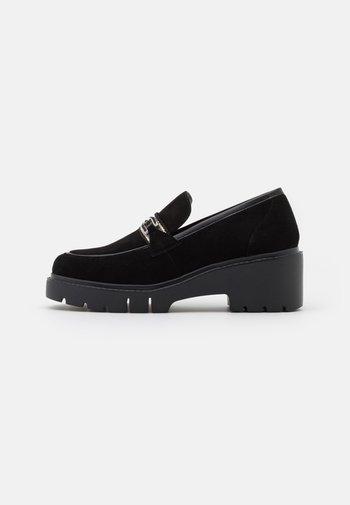 JULIOS - Platform heels - black
