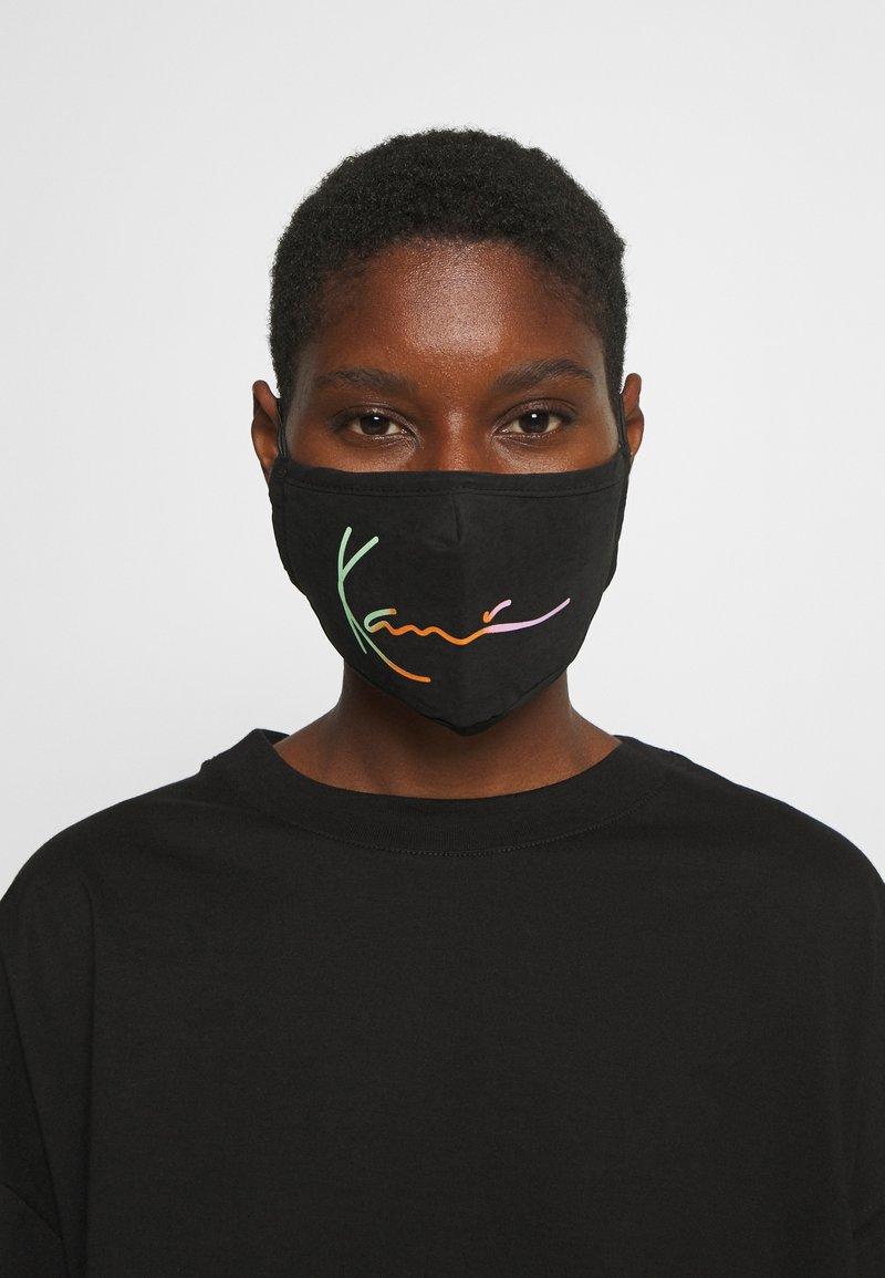 Karl Kani - SIGNATURE FACE MASK - Community mask - black