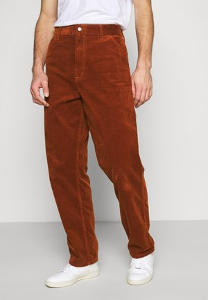 SINGLE KNEE PANT COVENTRY - Trousers - brandy rinsed
