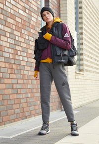 adidas Performance - PADDED - Sports jacket - berry - 4