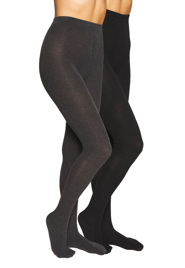 TIGHT 2 PACK - Collants - black mix