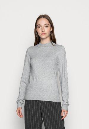 OBJTHESS - Jersey de punto - light grey melange