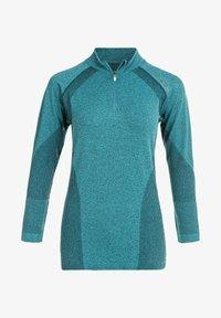 Endurance - HALEN W SEAMLESS - Sports shirt - ponderosa pine - 6