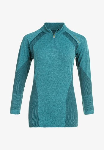 HALEN W SEAMLESS - Sports shirt - ponderosa pine