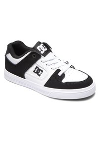 DC Shoes - PURE ELASTIC - Obuwie deskorolkowe - white black basic - 2