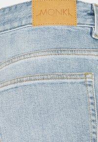 Monki - ZAMI - Straight leg jeans - blue dusty light unique beach blue - 5
