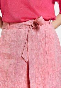 Gerry Weber - A-line skirt - rasberry melange - 2