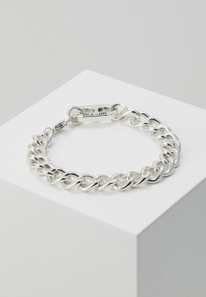 RING PULL CHAIN BRACELET - Náramek - silver-coloured