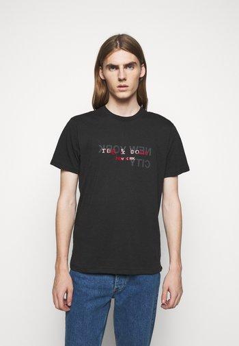 LOGO TEE - T-shirt imprimé - black