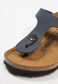Birkenstock - GIZEH - T-bar sandals - navy - 2
