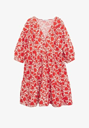 Day dress - rød