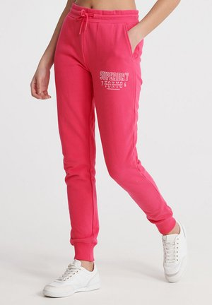 Tracksuit bottoms - fuchsia