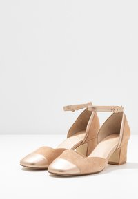 Anna Field - LEATHER PUMPS - Classic heels - beige - 4
