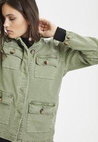 Denim Hunter - THE ARMY - Summer jacket - dusty olive - 4