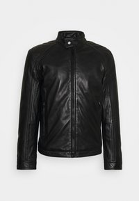 Strellson - QUINTO - Leather jacket - black - 0