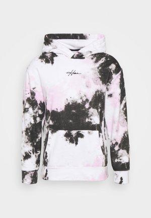 Mikina - white/black/pink