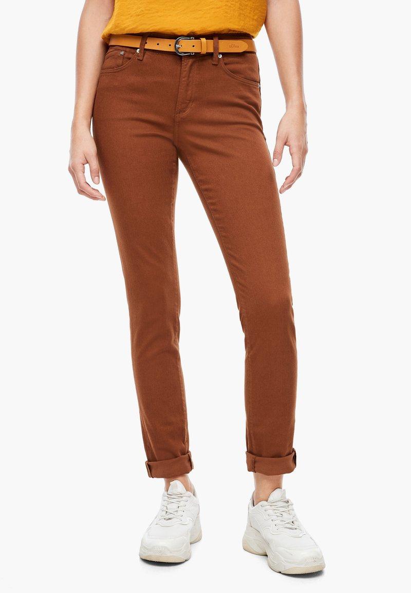 s.Oliver - Slim fit jeans - brown