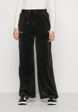 ADDOBBI - Tracksuit bottoms - black