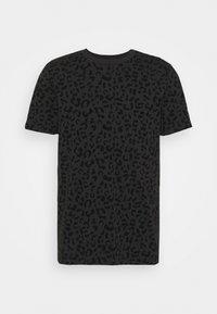 REGINA - T-shirt z nadrukiem - black