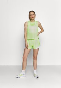 Under Armour - PLAY UP SHORTS 3.0 - Sports shorts - summer lime - 0