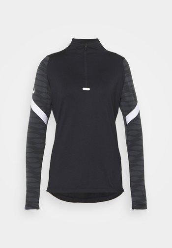 STRIKE21 - Sports shirt - black/anthracite/white