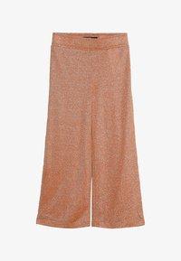LMTD - NLFJULIA WIDE CULOTTE PANT - Trousers - sun orange - 2