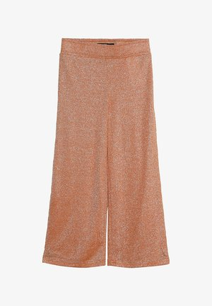 NLFJULIA WIDE CULOTTE PANT - Broek - sun orange