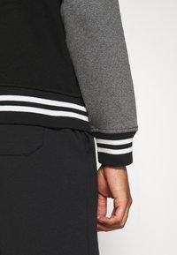 Polo Ralph Lauren - BASEBLHOODM LONG SLEEVE - Zip-up sweatshirt - black - 4